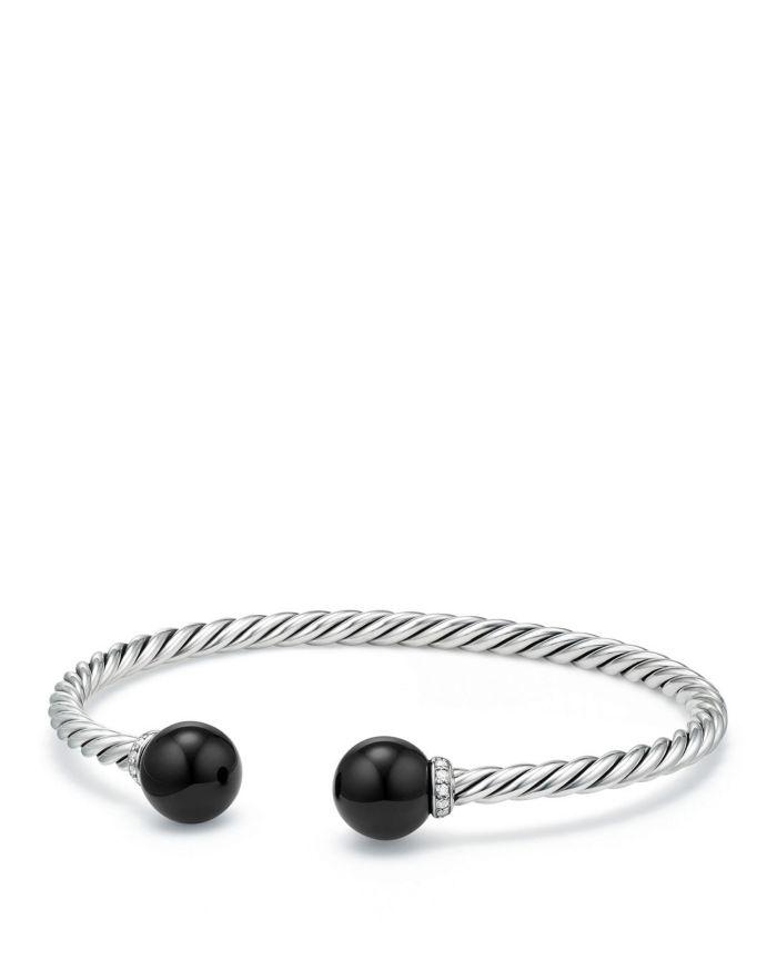 David Yurman Sterling Silver Solari Bracelet with Diamonds & Gemstones  | Bloomingdale's
