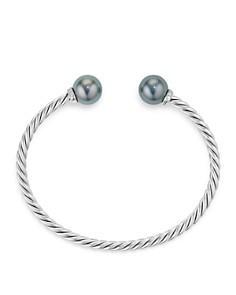 David Yurman - Solari Bracelet with Diamonds & Cultured Tahitian Gray Pearl