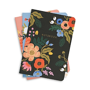 Rifle Paper Co. Lively Floral Notebooks, Set of 3
