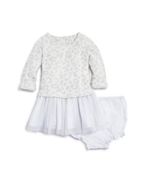 Pippa  Julie Girls LeopardPrint Sweater Tulle Dress  Bloomers  Baby