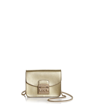 Furla Metropolis Leather Mini Crossbody