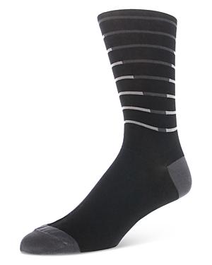 Bruno Magli Striped Socks