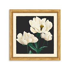 Bloomingdale's Artisan Collection Floral On Charcoal Wall Art - 100% Exclusive_0
