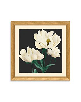 Bloomingdale's Artisan Collection - Floral On Charcoal Wall Art - 100% Exclusive