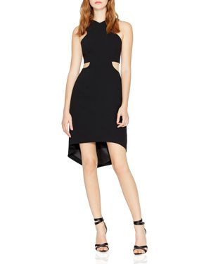 Halston Heritage V-Neck Cutout Dress 2759909