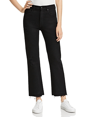 Derek Lam 10 Crosby Gia Ankle Mid-Rise Cropped Jeans