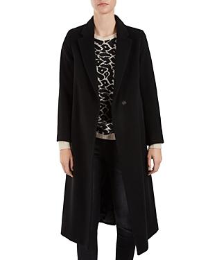 Gerard Darel Gabriel Virgin Wool Coat