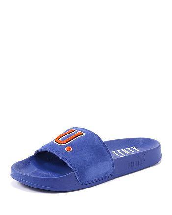c3ba1667da65 FENTY Puma x Rihanna Unisex Leadcat Suede FU Pool Slide Sandals ...