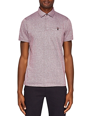 Ted Baker Bary Textured Regular Fit Polo