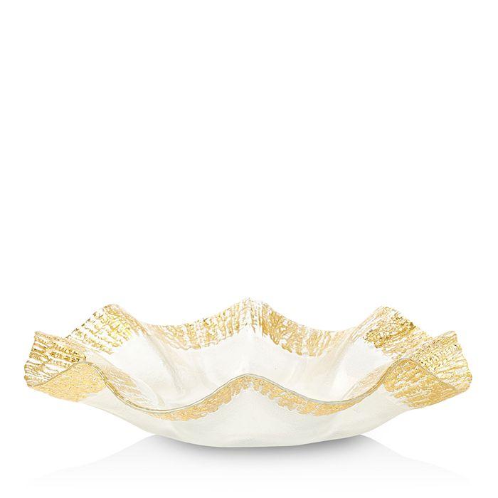 VIETRI - Rufolo Glass Gold Platter
