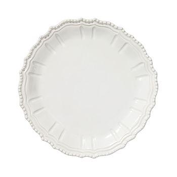 VIETRI - Incanto Stone White Baroque Round Platter