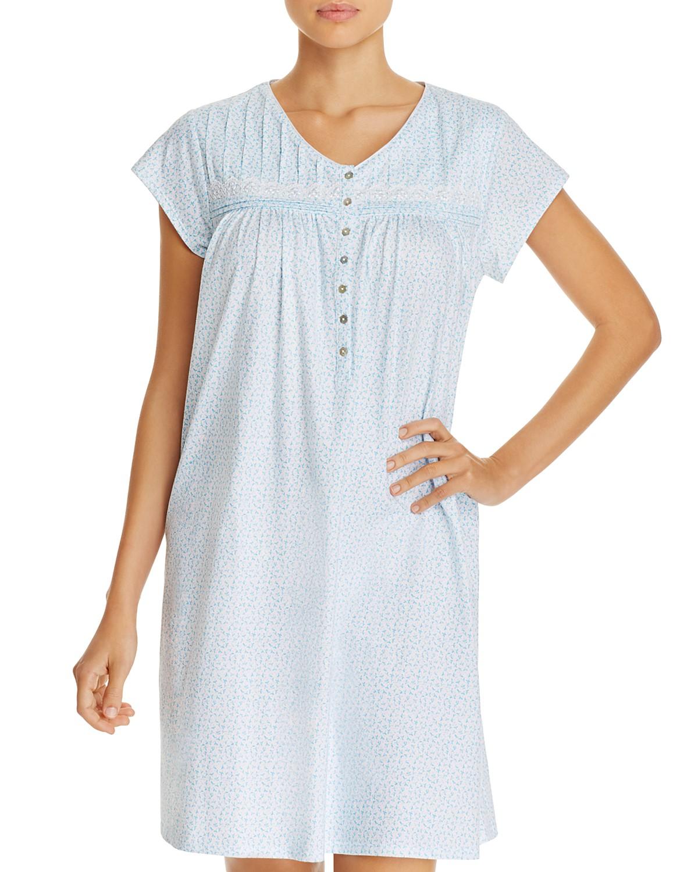 Eileen West Cap Sleeve Short Gown   Bloomingdale\'s