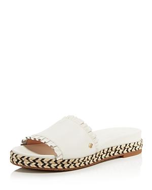 kate spade new york Women's Zahara Leather Slide Sandals