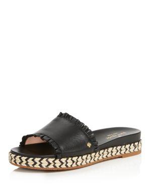 Zahara Slide Sandal, Black