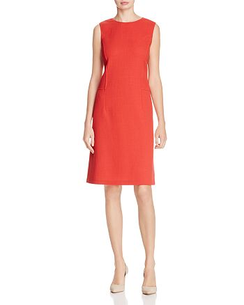 Lafayette 148 New York - Selita Wool Shift Dress