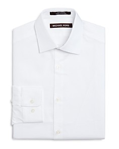 Michael Kors - Boys' Tonal Stripe Dress Shirt - Big Kid