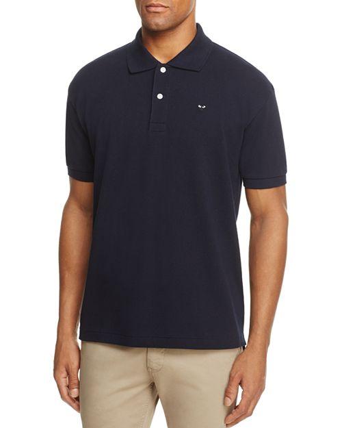 Comme Des Garcons PLAY - Black Heart Short Sleeve Polo Shirt