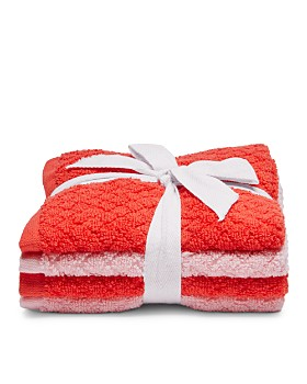 Caro Home - Phoebe Washcloths, Set of 4 - 100% Exclusive