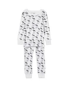 Aden and Anais Unisex Zebra-Print Pajama Set - Baby - Bloomingdale's_0