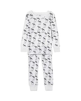 Aden and Anais - Unisex Zebra-Print Pajama Set - Baby