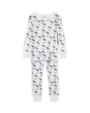 Aden and Anais Boys' Zebra-Print Pajama Set - Baby