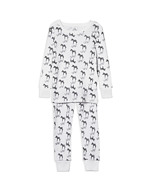Aden and Anais Boys' Zebra-Print Pajama Set - Baby