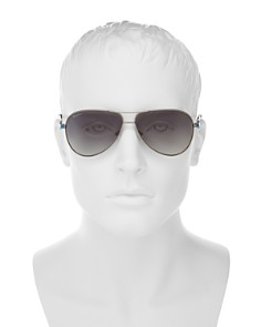 Salvatore Ferragamo - Men's Aviator Sunglasses, 62mm