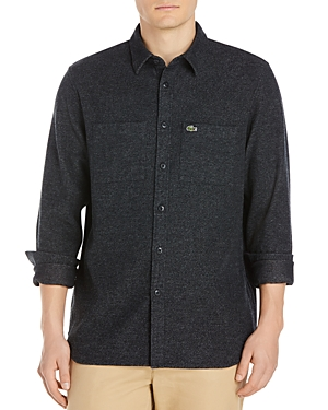 Lacoste Static Long Sleeve Button-Down Shirt
