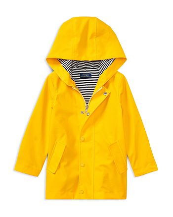 Ralph Lauren - Girls' Hooded Raincoat - Little Kid