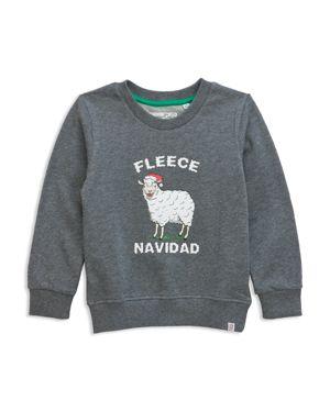 Sovereign Code Boys' Fleece Navidad Graphic Sweatshirt - Big Kid