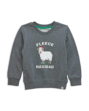 Sovereign Code Boys' Fleece Navidad Graphic Sweatshirt - Big Kid