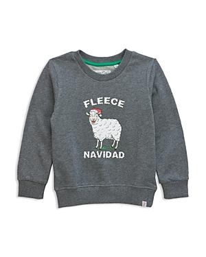 Sovereign Code Boys Fleece Navidad Graphic Sweatshirt  Big Kid