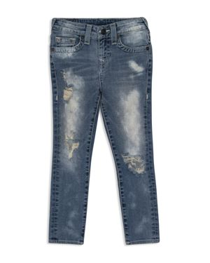 True Religion Boys' Rocco Distressed Skinny Jeans - Big Kid 2767082