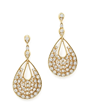 Bloomingdale's Diamond Statement Drop Earrings in 14K Yellow Gold, 3.05 ct. t.w. - 100% Exclusive