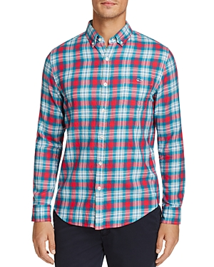 Vineyard Vines Elmwood Plaid Slim Fit Button-Down Shirt