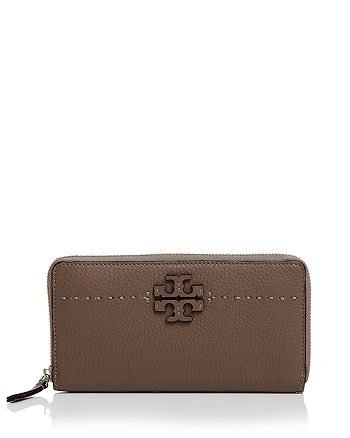 Tory Burch - McGraw Zip Leather Continental Wallet