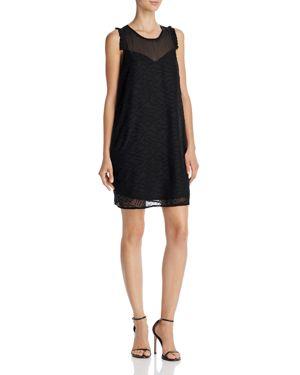 Aqua Clip Dot Chiffon Dress - 100% Exclusive