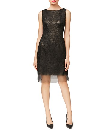 $Betsey Johnson Embroidered Sheath Dress - Bloomingdale's