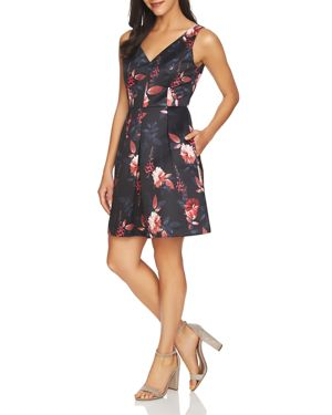 CeCe by Cynthia Steffe Rose V-Neck Dress
