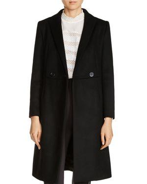 Maje Gepal Wool-Blend Coat