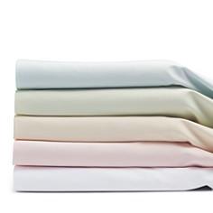 Coyuchi - Organic Cotton Sateen Fitted Sheets, Crib