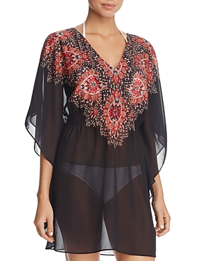 Miraclesuit Mandala Caftan Swim Cover-Up