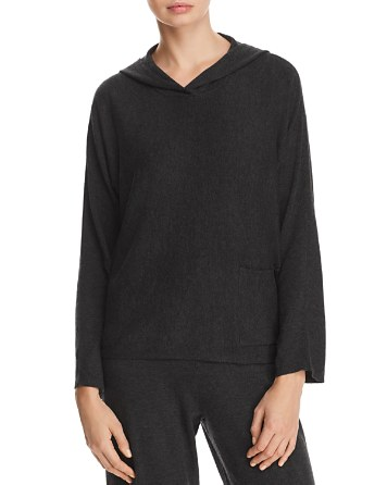 $Eileen Fisher Hooded Sweater - Bloomingdale's
