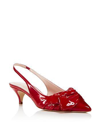 4ecf3a9bd29 kate spade new york - Women s Ophelia Patent Leather Slingback Pumps - 100%  Exclusive