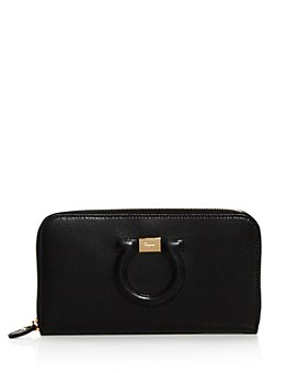 Salvatore Ferragamo - Gancio City Zip Around Calfskin Wallet