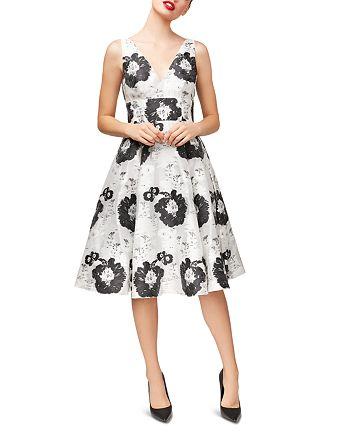 Betsey Johnson - Floral Jacquard Dress