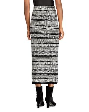 Lauren Ralph Lauren Graphic Fair Isle Sweater Skirt