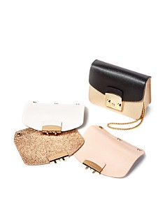 Furla MY PLAY Interchangeable Metropolis Mini Leather Flaps & Crossbody Bags - Bloomingdale's_0