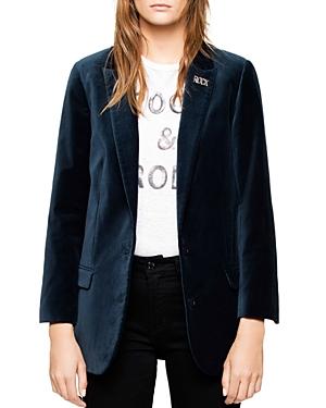 Zadig & Voltaire Viva Velvet Jacket