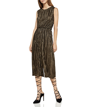 BCBGeneration Pleated Culotte Romper